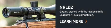 Bushnell Match Pro Riflescope mounted on rifle