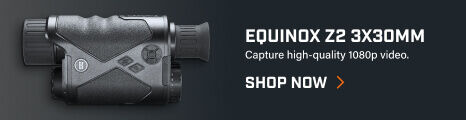 Bushnell Equinox Z2 3x30 Monocular on dark background