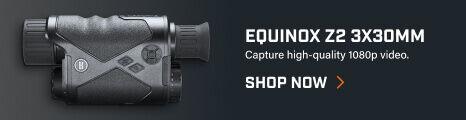 Bushnell Equinox Z2 3x30 Monocular on dark background