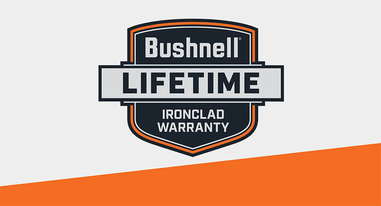 Bushnell Lifetime Ironclad Warranty logo