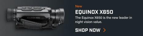 Bushnell Equinox X650 on dark background