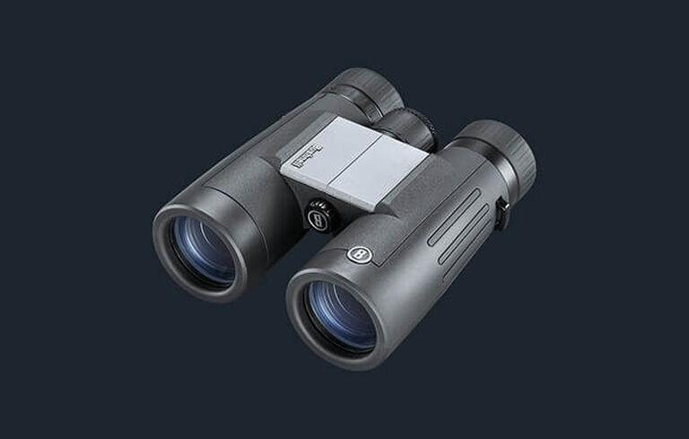 Three-quarter detail shot of Powerview 2 Binoculars