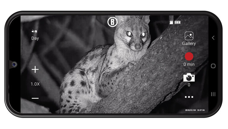 Bushnell Equinox app on a smartphone