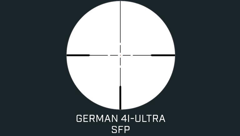 German #4 Illuminated Ultra SFP Reticle