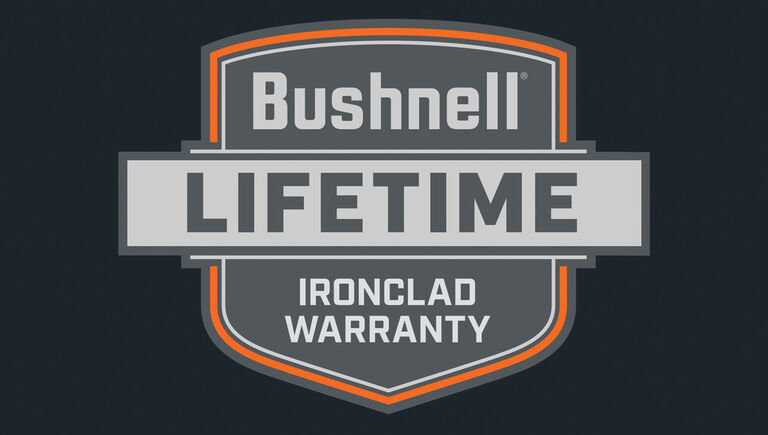 Bushnell lifetime ironclad warranty icon
