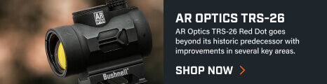 Detail shot of AR Optics TRS-26 Reflex Sight