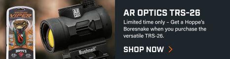 Detail shot of AR Optics TRS-26 Reflex Sight