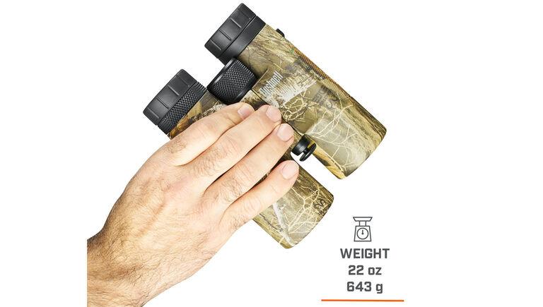 Bushnell Powerview Binoculars weigh 22oz / 643g