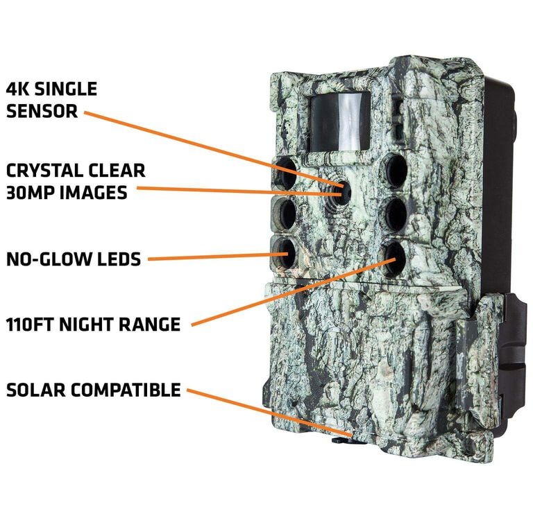 Bushnell S-4K Trail Camera Callouts