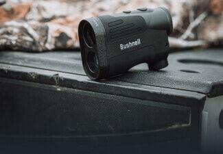 Prime 1800 Laser Rangefinder on truck tailgate