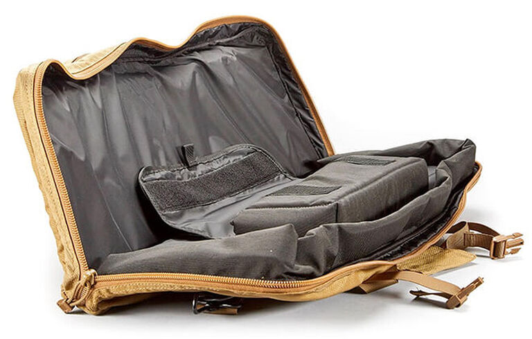 View of inside the Tactical Tripod Kit Bag