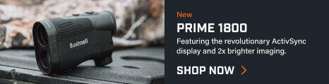 Prime 1800 Rangefinder on truck tailgate