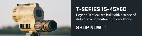 T-Series Spotting Scope mounted tripod