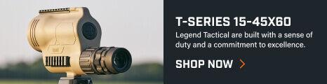 T-Series Spotting Scope mounted tripod