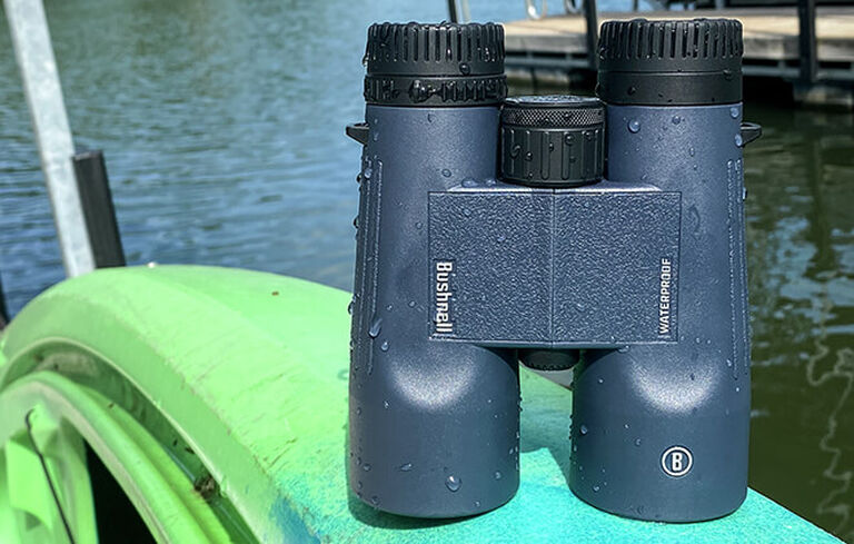 Detail shot of H2O Binoculars