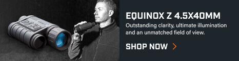 Bushnell Equinox Z 4.5x40 Monocular on dark background
