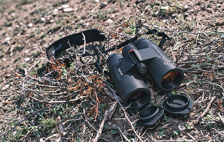 Detail shot of Nitro Binoculars