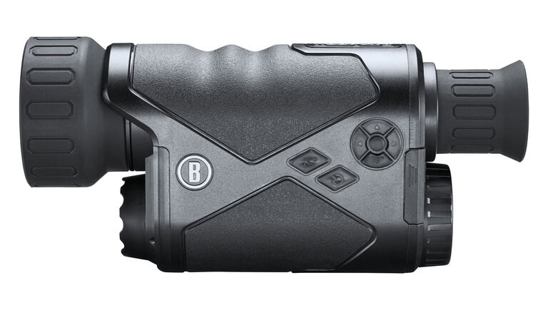 Side view of the Bushnell Equinox Z2 Night Vision Monocular