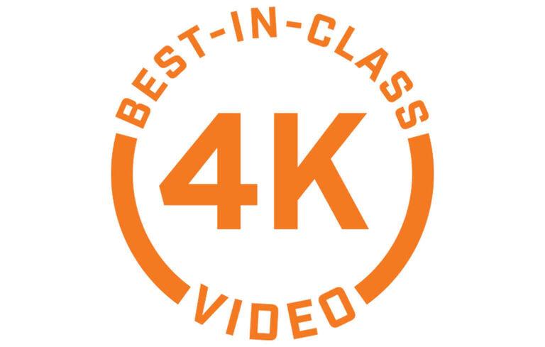 Best in Class 4K Video