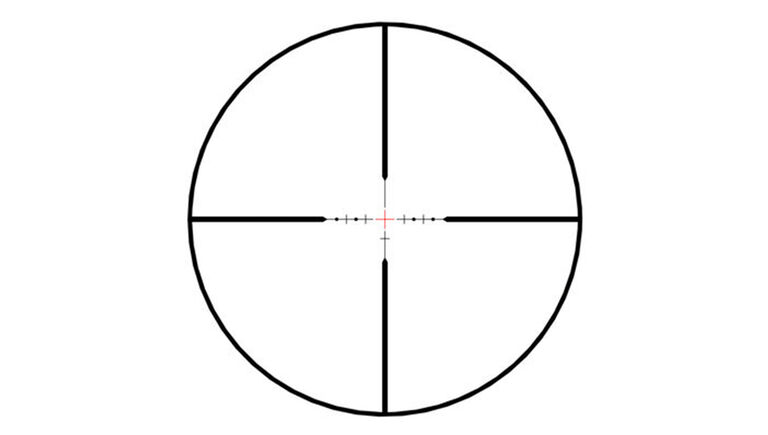 Bushnell Illuminated Windhold Reticle