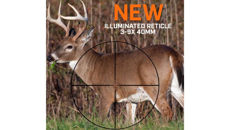 Illuminated Multi-X Reticle