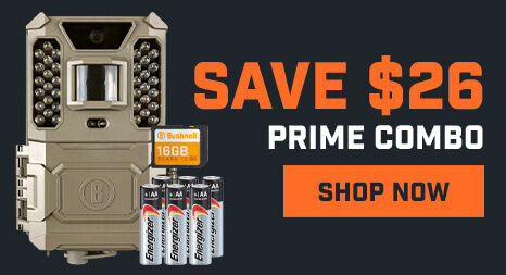 Save $26 on Prime Trail Camera Combo