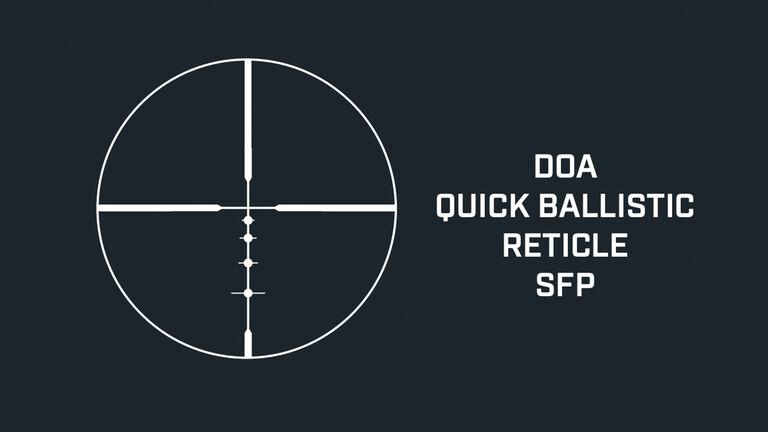 DOA Ballistics Reticle