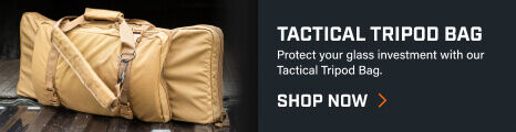 Tactical Tripod Kit Bag placed in truck bed