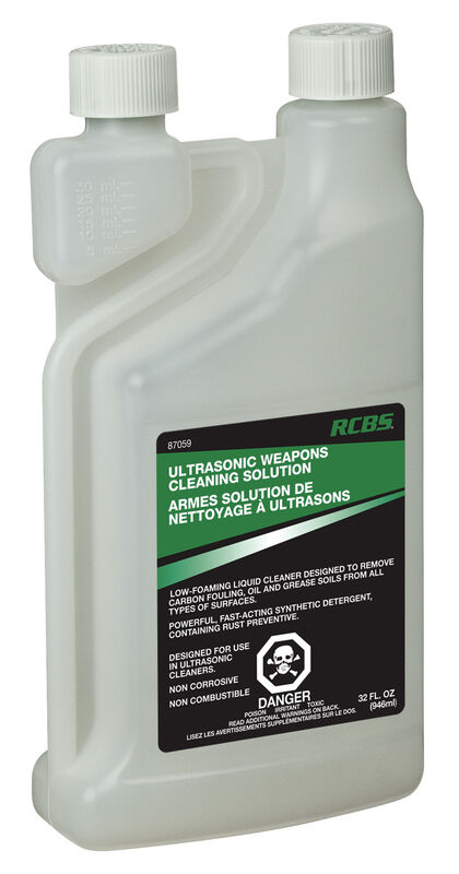 Ultrasonic Weapons Cleaning Solution