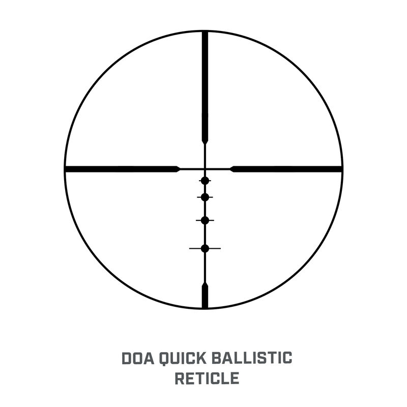 Legend 4-12x40 Riflescope