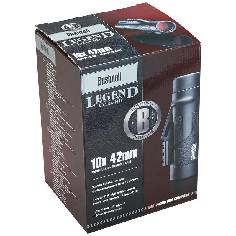 Legend® 10x42 Ultra HD Tactical Monocular Black