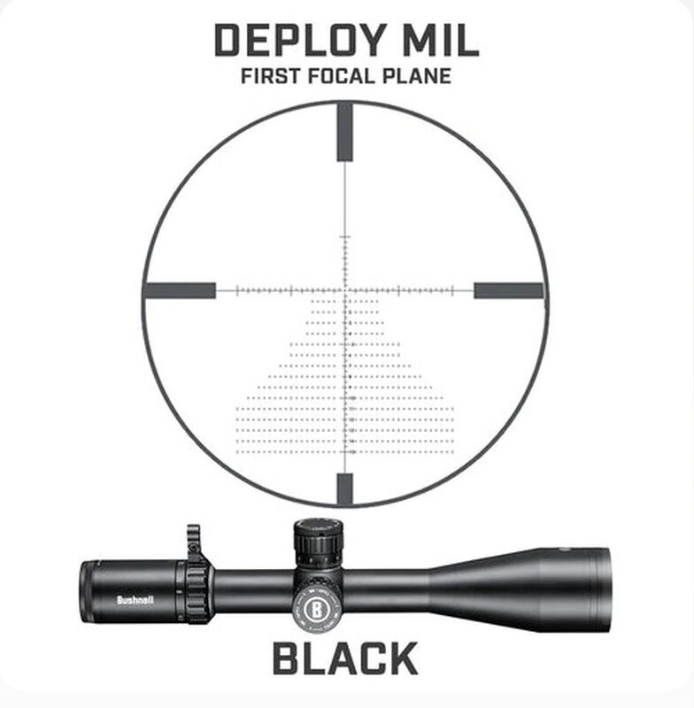Forge 4.5-27x50 Riflescope Deploy MIL FFP