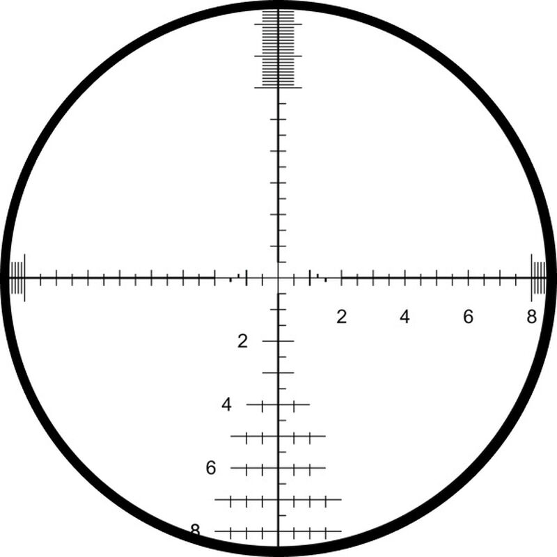 Elite Tactical XRS II 4.5-30x50 Riflescope Gun Metal Gray