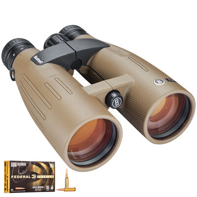 Forge 15x56 Binoculars & Gold Medal Match 6 Creedmoor Bundle