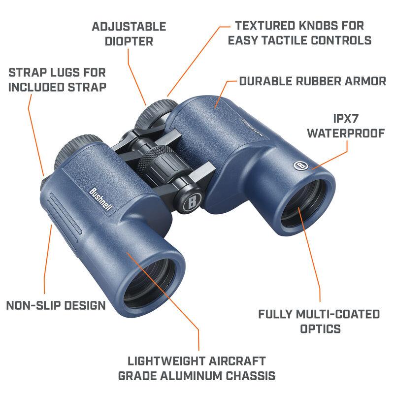 H2O 10x42 Waterproof, Porro Prism Binoculars