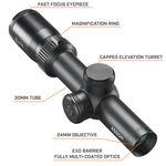 Elite 4500 4X 1-4x24 Riflescope Multi-X