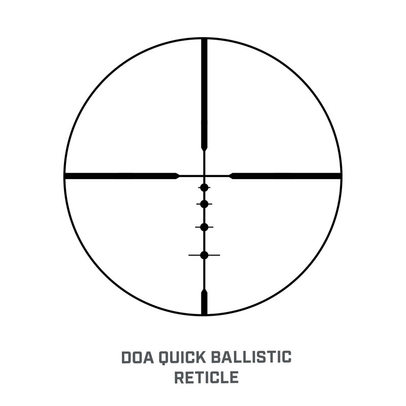 Banner 2 3-9x40 Riflescope Extended Eye Relief