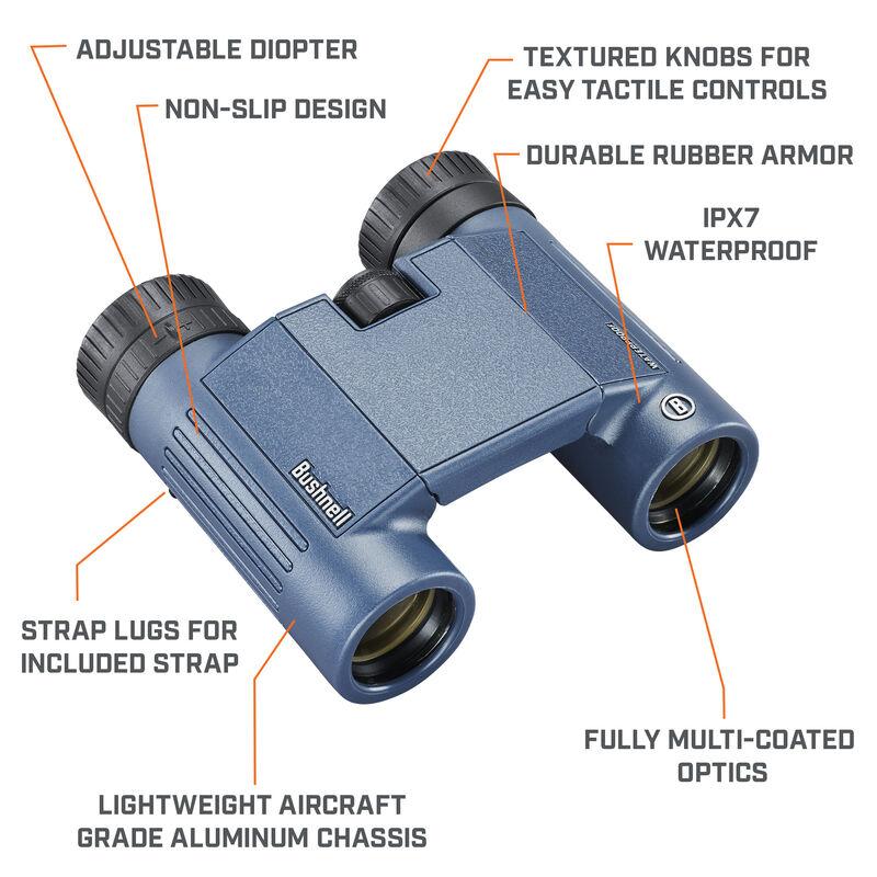 H2O 8x25 Waterproof Binoculars