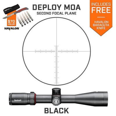 Nitro 3-12x44 Riflescope Deploy MOA SFP Havalon Combo