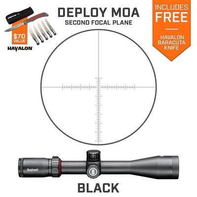 Nitro 6-24x50 Riflescope Deploy MOA SFP Havalon Combo
