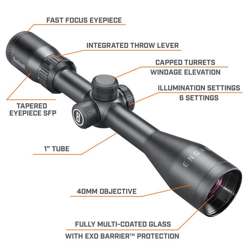 Engage Riflescope - 3-9x40 Illuminated